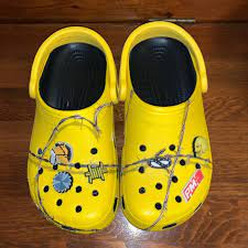 Fashion Crocks in yellow
